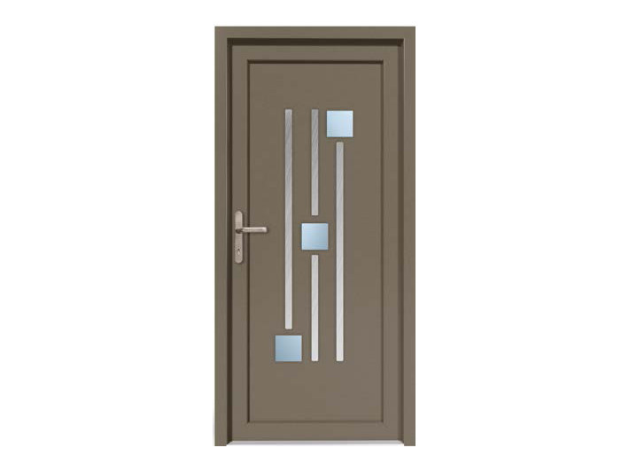 HPL door panel for indoor use EKOLINE 70 by EKO-OKNA