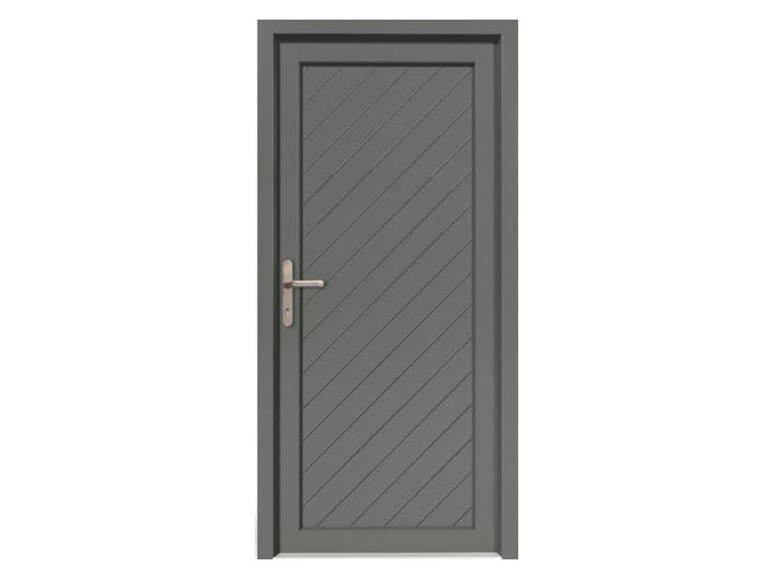 HPL door panel for indoor use EKOLINE 75 by EKO-OKNA