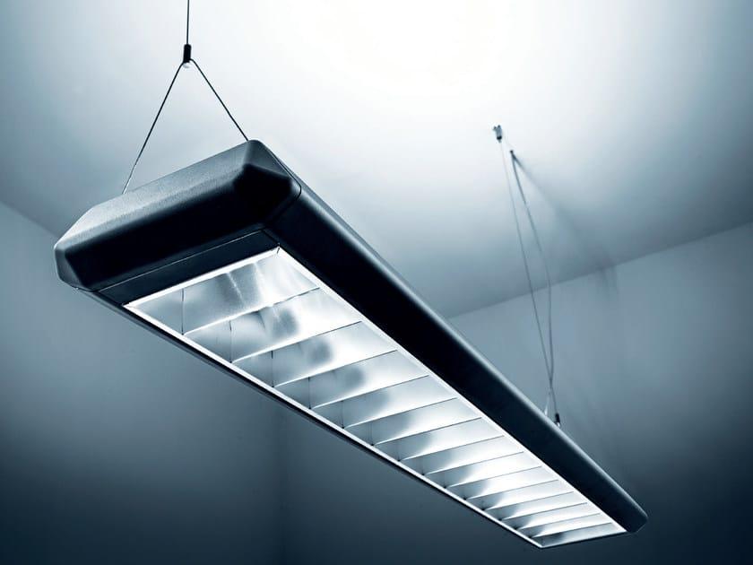 Led Lampen Direct : Led direct indirect light aluminium pendant lamp remo by plexiform