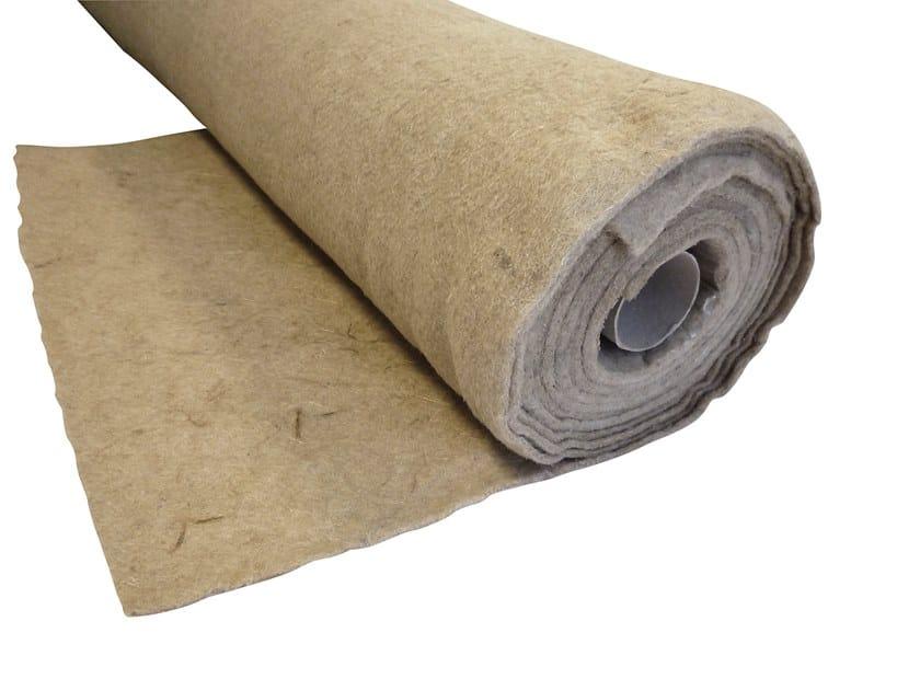 Impact insulation system EKOSOUND 3 - FIBRE NATURALI DI KENAF by Biemme