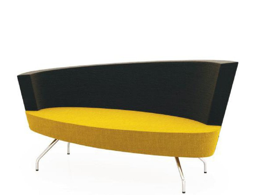 Fabric small sofa EL 2 | Small sofa by TALIN