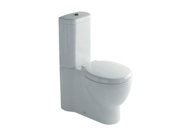 Close coupled ceramic toilet EL1 / EL2 | Close coupled toilet by GALASSIA