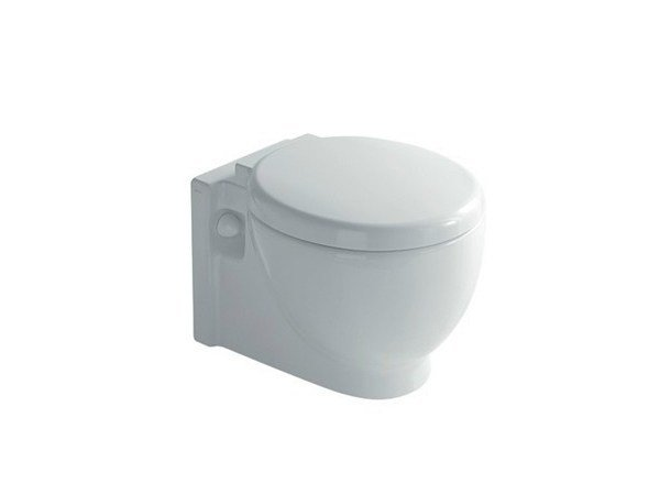 Wall-hung ceramic toilet EL1 / EL2 | Wall-hung toilet by GALASSIA