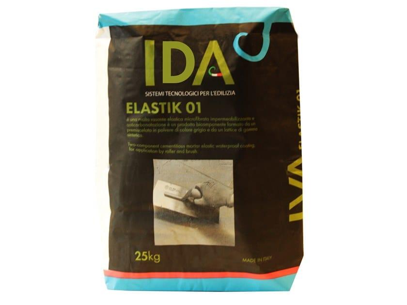 Cement-based waterproofing coating ELASTIK 01-02 by IDA