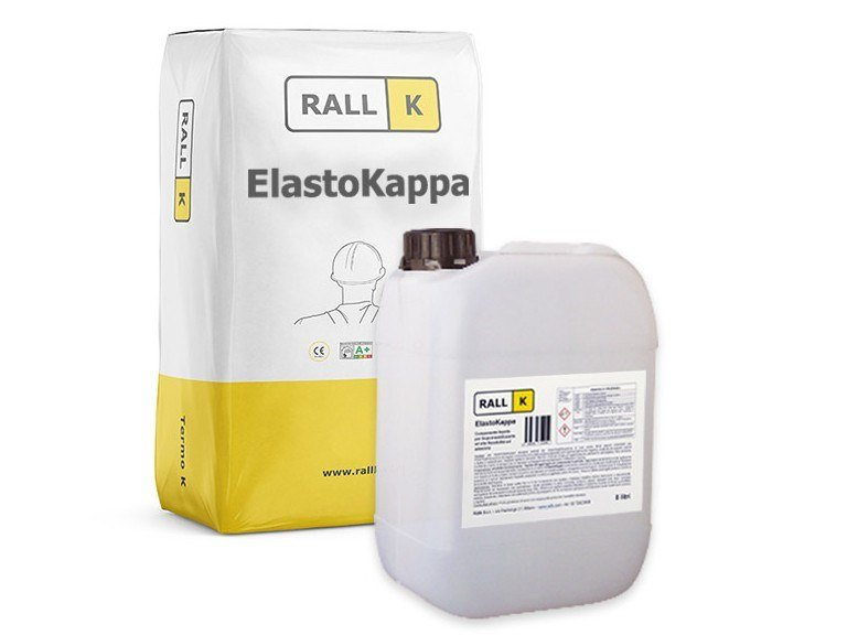 Cement-based waterproofing coating ELASTOKAPPA by RALLK