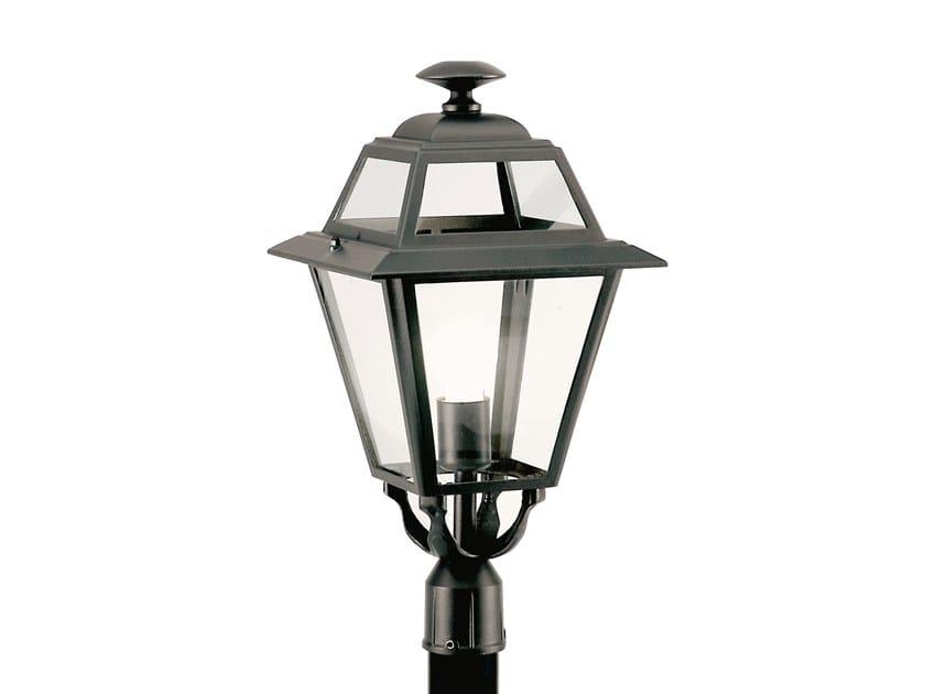Lampione da giardino a lanterna in alluminio e vetro ELEGANCE 859 by SOVIL