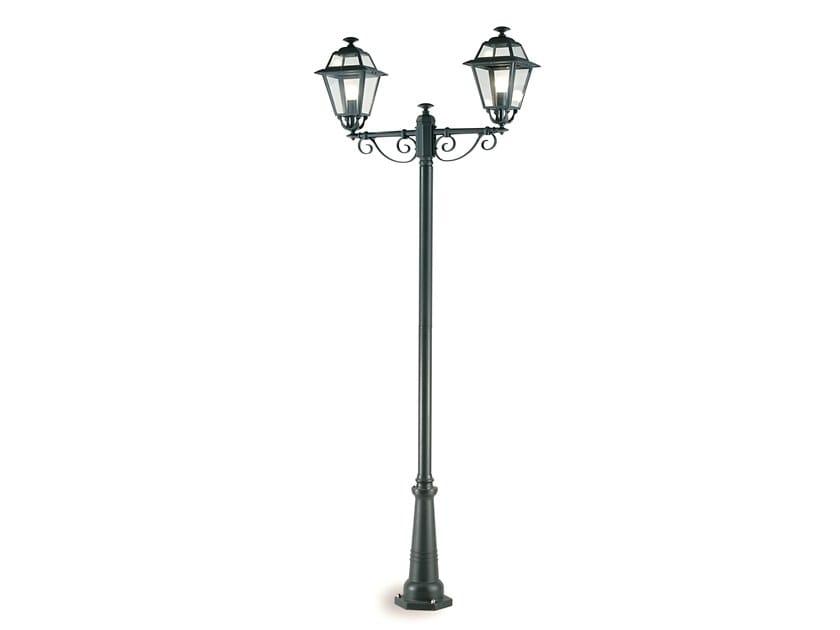 Lampione da giardino a lanterna in alluminio pressofuso ELEGANCE 861 by SOVIL