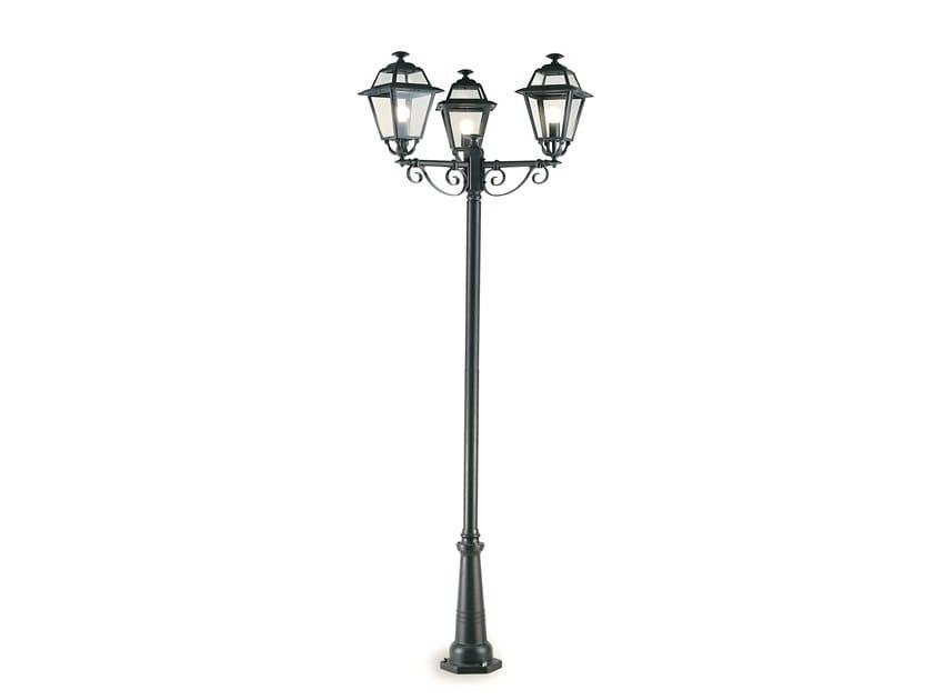Lampione da giardino a lanterna in alluminio pressofuso ELEGANCE 862 by SOVIL