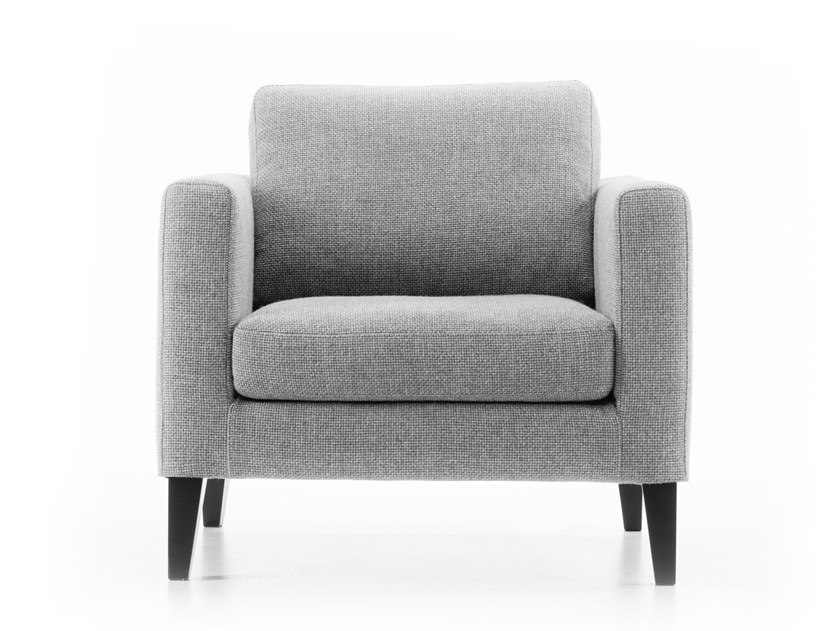 Armchair with armrests ELEGANCE | Fabric armchair by prostoria