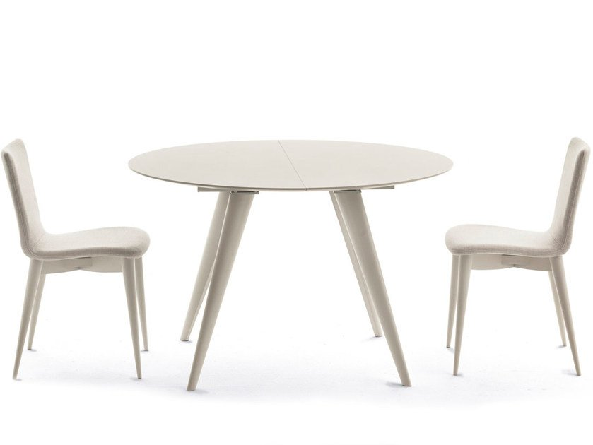 Extending Round Table ELEGANCE By Pacini U0026 Cappellini