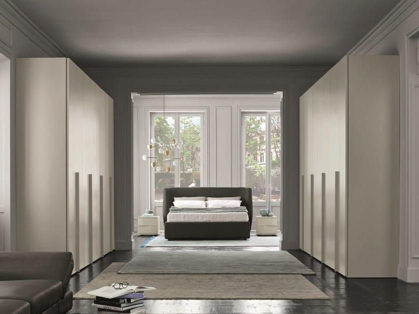 Melamine-faced chipboard bedroom set ELEGANT FEELINGS by Febal Casa