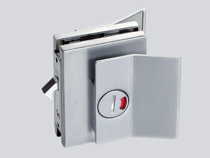 Sliding door lock ELEGANT LEVER COLOR by Metalglas Bonomi