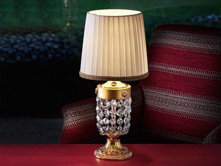 Lampada da tavolo a luce diretta in cristallo ELEGANTIA TL1P by Masiero