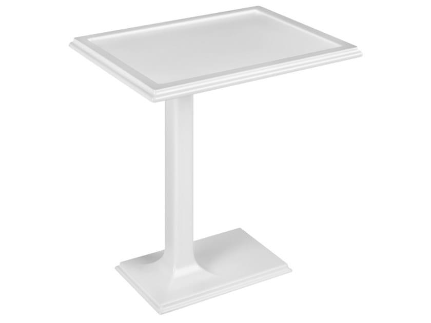 Low rectangular Cristalplant® coffee table ELEGANZA   Coffee table by Gessi