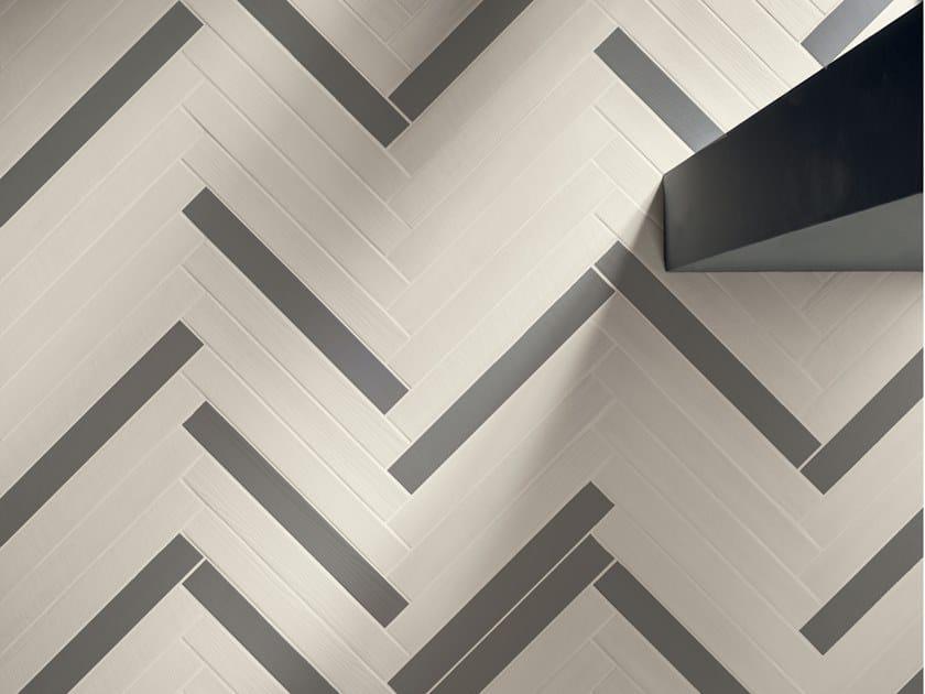 Porcelain stoneware wall/floor tiles ELEMENTO BIANCO by Marca Corona