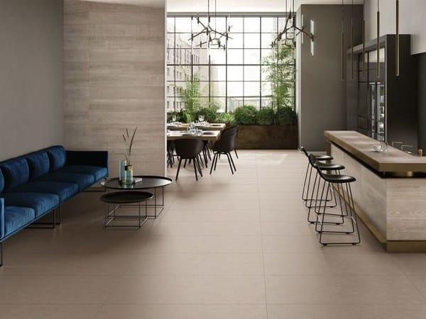 Pavimento/rivestimento in gres porcellanato ELEMENTS DESIGN BEIGE by CERAMICHE KEOPE
