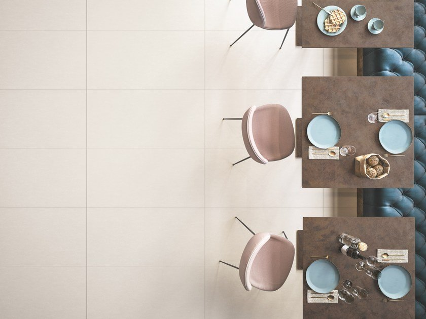 Flooring ELEMENTS DESIGN WHITE by CERAMICHE KEOPE