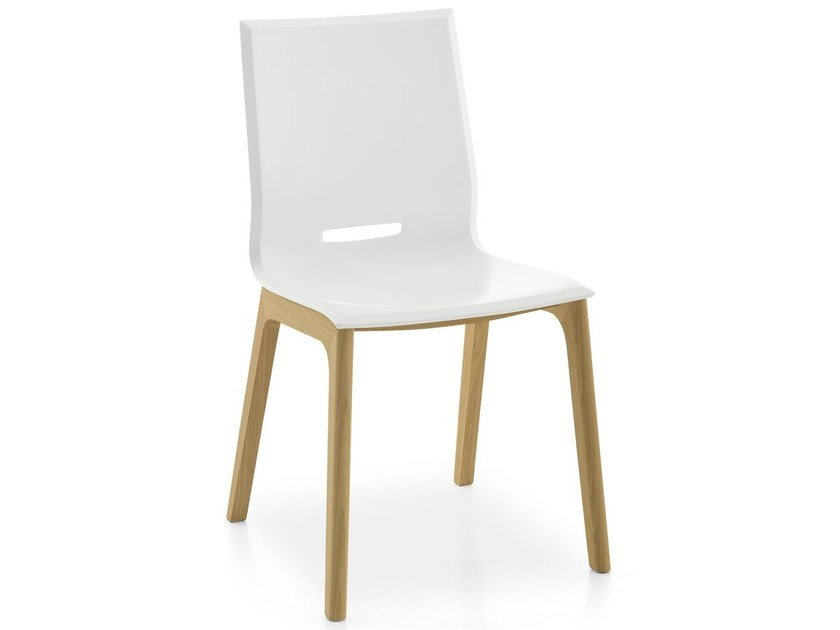 Polypropylene chair ELENA 5 by Pointhouse