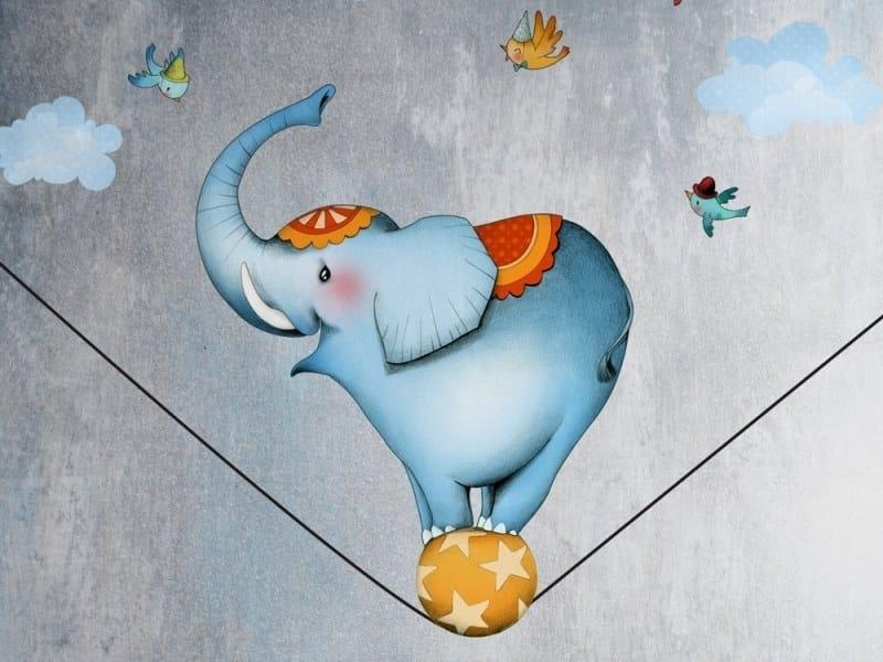 Kids wall sticker ELEPHANT by ACTE-DECO