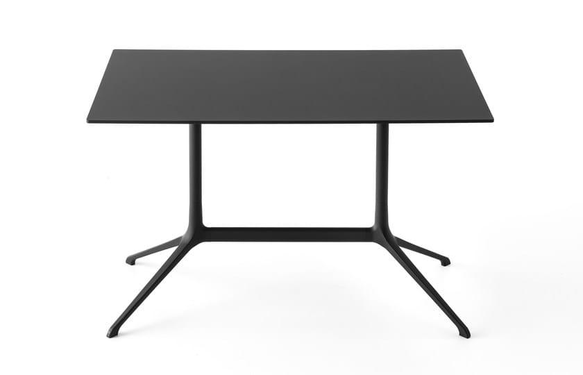 Ribalta Alluminio Pressofuso ElephantTavolo Piano A Con Rettangolare In Kristalia YvIf7gy6b