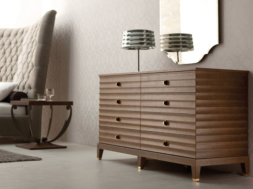 Wooden chest of drawers ELETTRA | Wooden chest of drawers by OPERA CONTEMPORARY