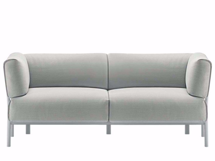 2 seater fabric sofa ELEVEN - 861 | Fabric sofa by Alias