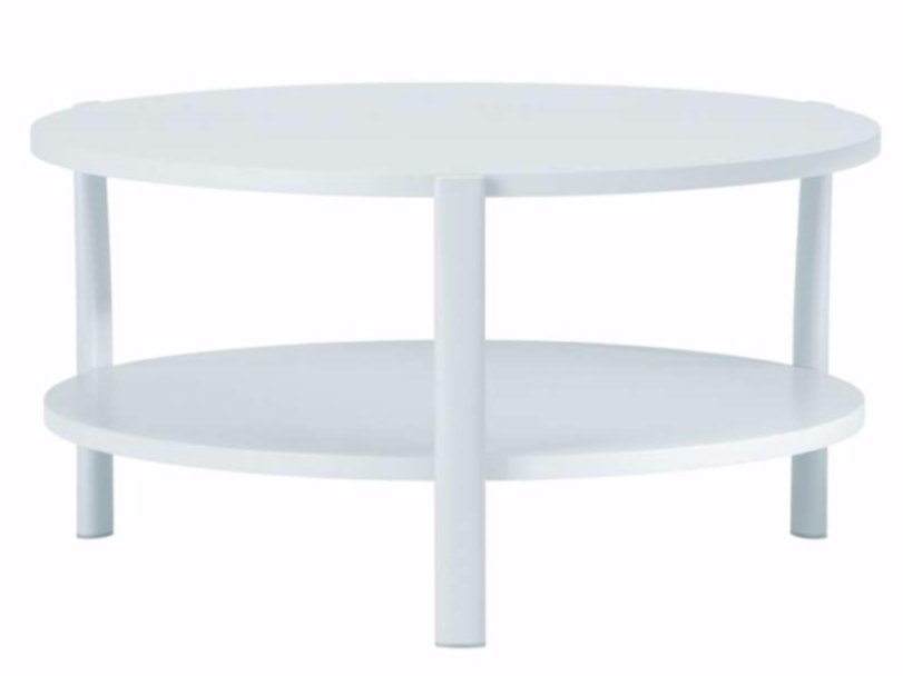Round MDF coffee table ELEVEN TABLE DOUBLE - 954 | Round coffee table by Alias