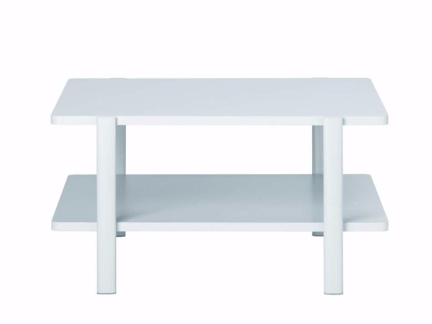Square MDF coffee table ELEVEN TABLE DOUBLE - 954 | Square coffee table by Alias