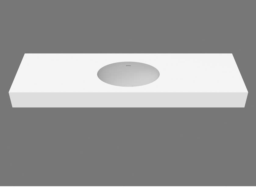 Lavabo rettangolare sospeso ELI SYSTEM 50 by DIMASI BATHROOM