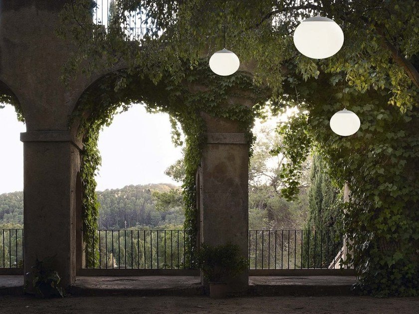 LED pendant lamp ELIPSE S/50/H OUTDOOR by BOVER