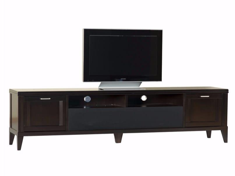 Mobile TV basso in legno ELIZA | Mobile TV in legno by SELVA