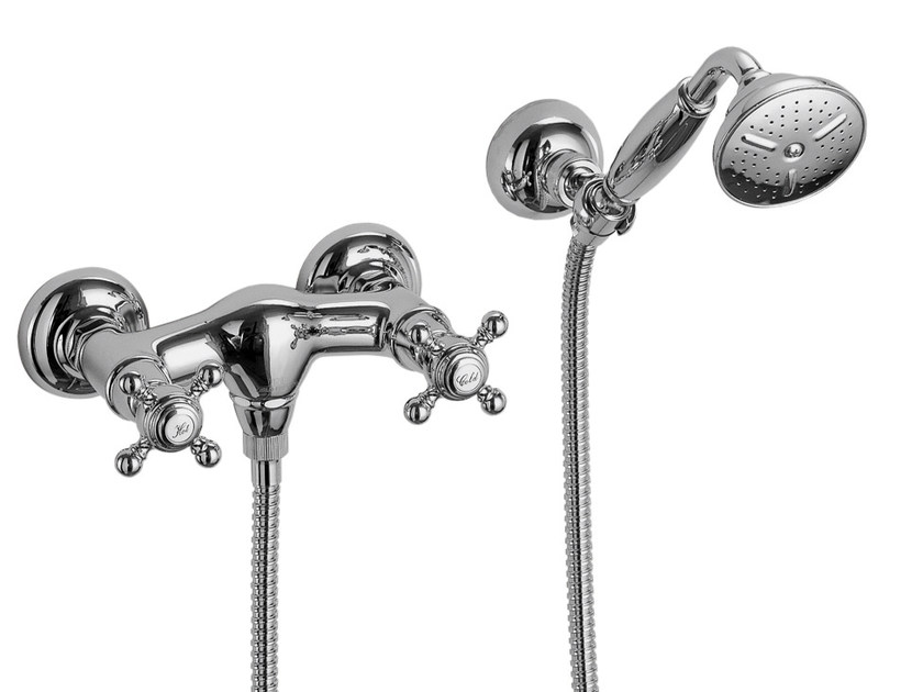 3 hole shower tap with hand shower ELIZABETH F5085 | Shower tap by FIMA Carlo Frattini