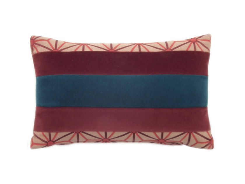 Rectangular fabric cushion ELLE 276-12 by l'Opificio