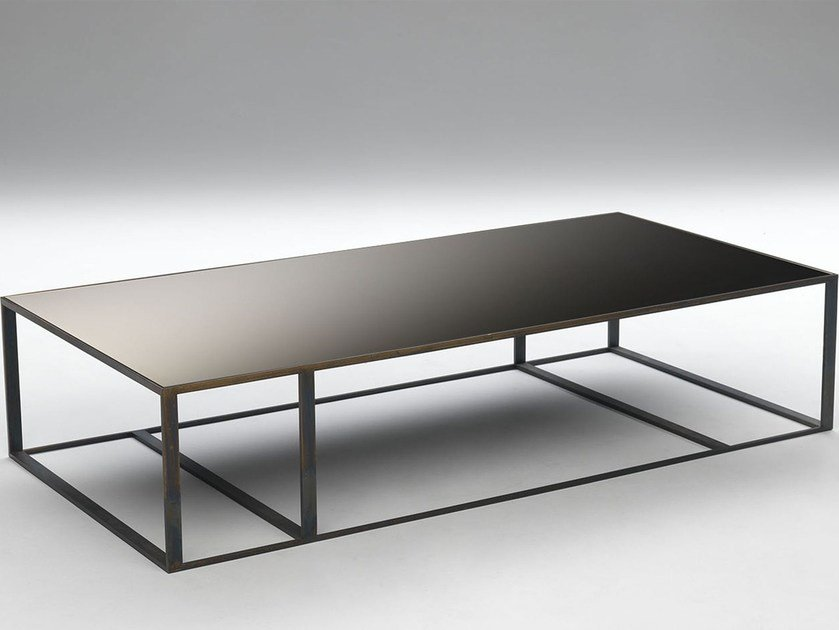 Low rectangular coffee table ELLE | Rectangular coffee table by Paolo Castelli