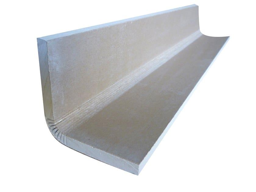 Plasterboard cornice ELLE S 90° by Biemme