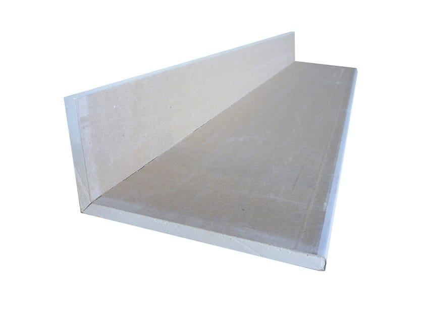 Plasterboard cornice ELLE V 90° by Biemme