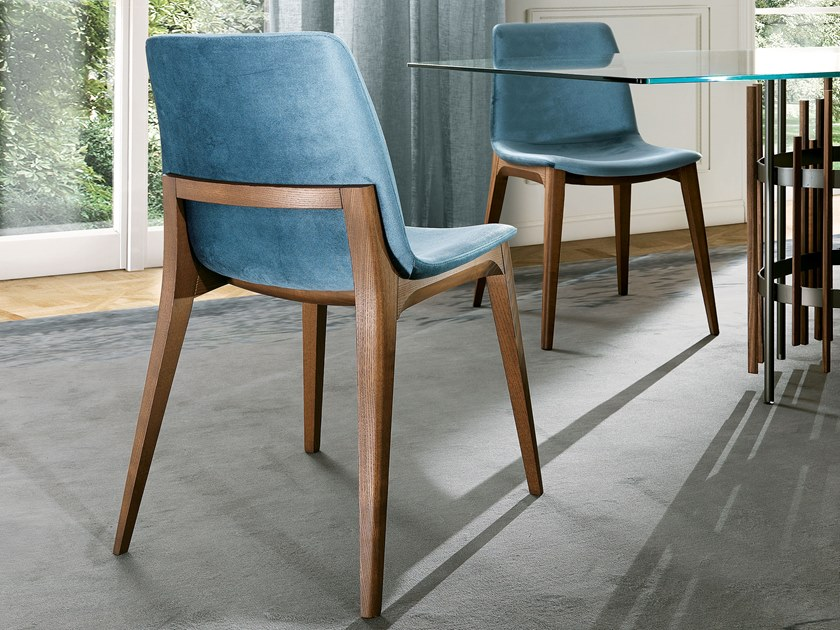 Upholstered chair ELLEN | Chair by Pacini & Cappellini