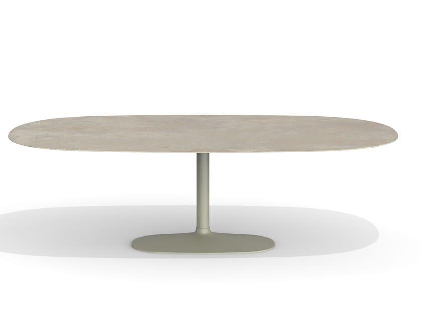 Tavolo ovale in ceramica ELLIS   Tavolo ovale by Desalto