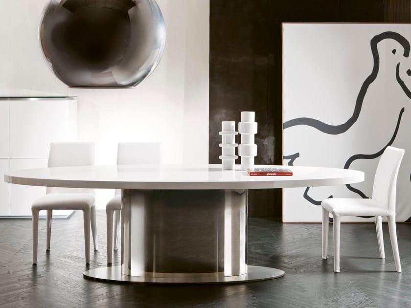 Tavolo Ovale Design : Tavolo da pranzo ovale ellys pacini cappellini