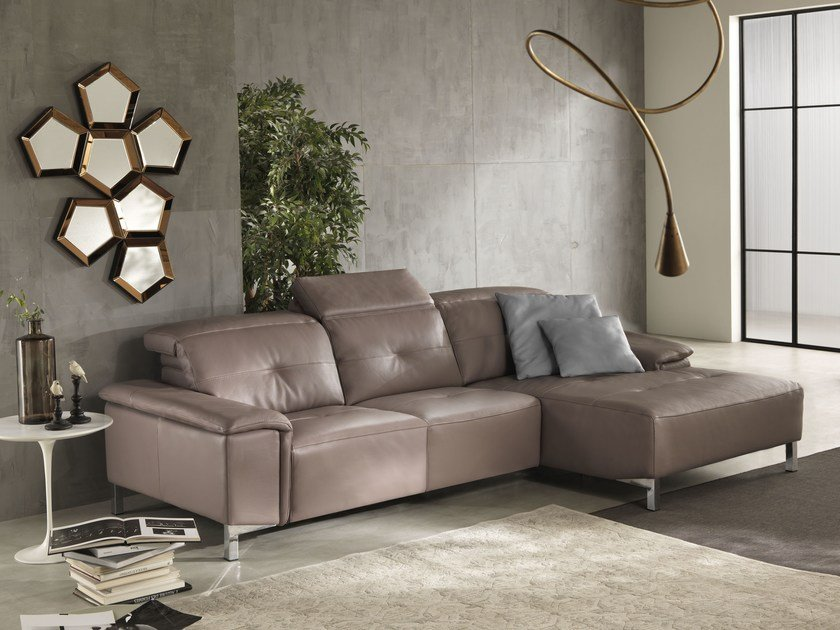 Sectional relaxing sofa ELODIE | Sectional sofa by Egoitaliano