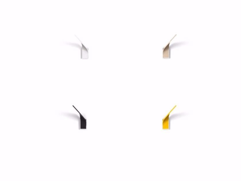 Wall-mounted aluminium coat rack ELX | Wall-mounted coat rack by Punt