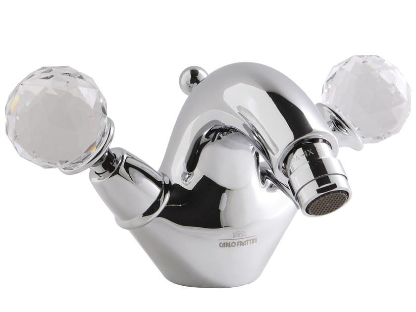 Countertop 1 hole bidet tap with swivel spout ELZABETH CHIC F5092/2C | Bidet tap by FIMA Carlo Frattini