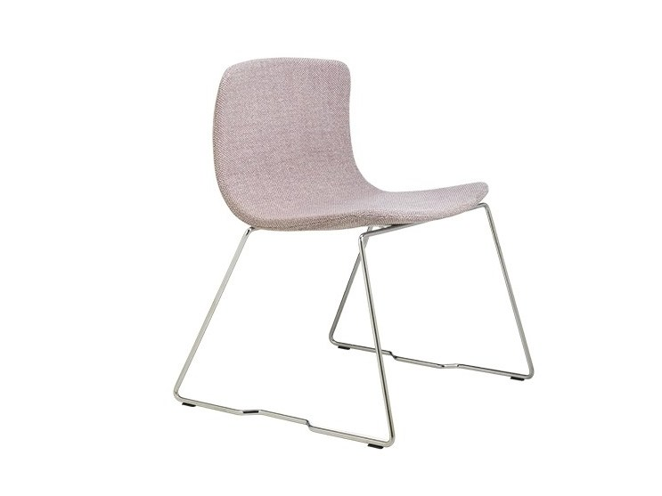 Sled base stackable chair EMBER | Sled base chair by Albaplus