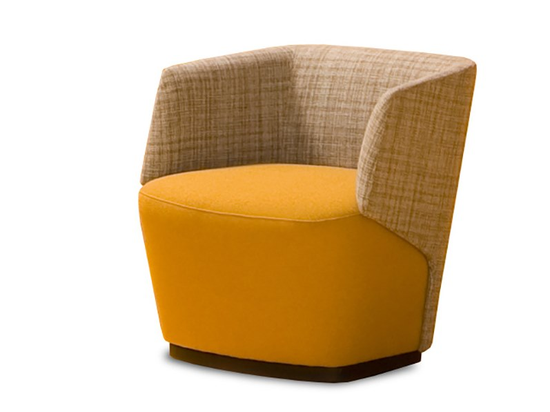 Fabric easy chair EMBRASSE HALL | Easy chair by ESTEL GROUP