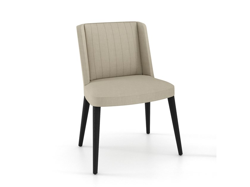 Upholstered fabric chair EMBRASSE MOI | Chair by ESTEL GROUP
