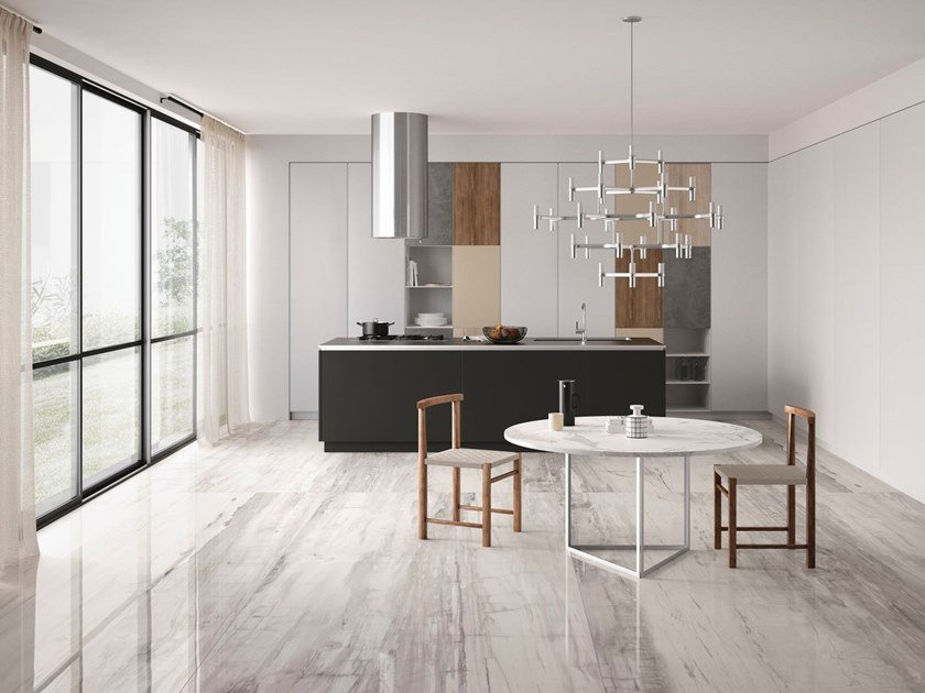 Porcelain stoneware wall/floor tiles with wood effect EMINENT GREY by GranitiFiandre