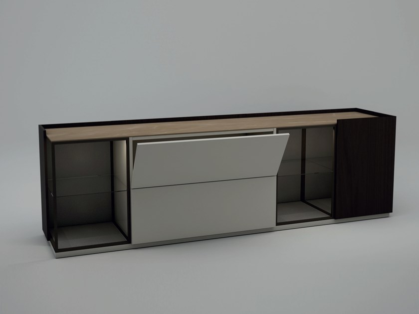 Sideboard with flap doors EMME by Kico