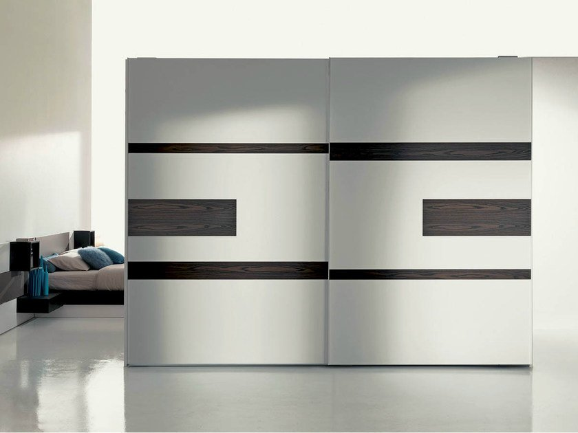 Lacquered wardrobe with built-in TV EMOTION BASIC by Fimar
