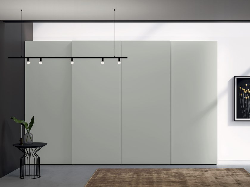 Lacquered wardrobe with sliding doors EMOTION UP EM22 by Dall'Agnese