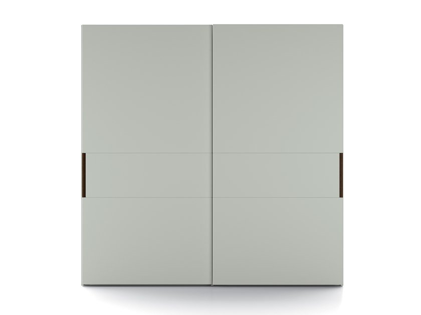 Lacquered wardrobe with sliding doors EMOTION UP EM30 by Dall'Agnese